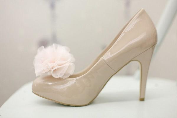 свадебные туфли - украшаем своими руками