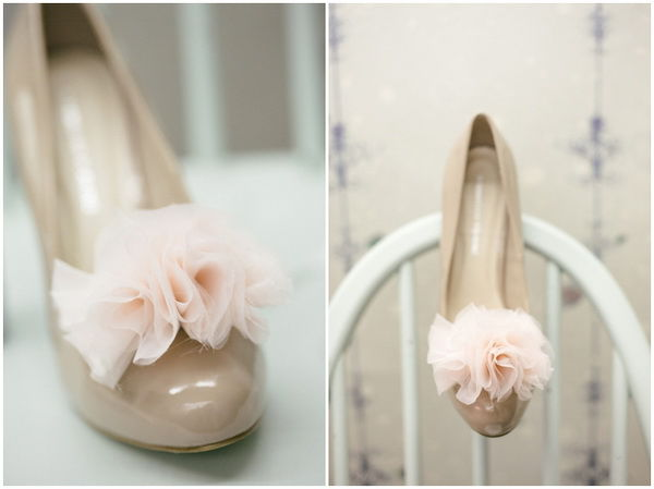 помпоны на туфли