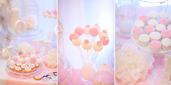 candy bar в розовом цвете