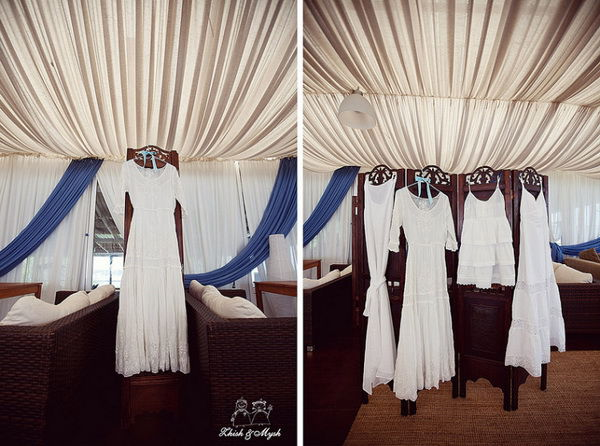 платья для девичника