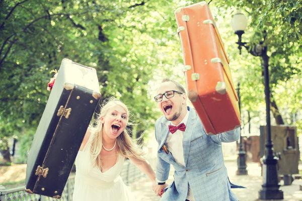 свадьба в стиле путешествий
