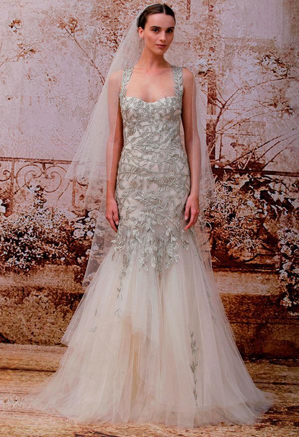 платье monique lhuillier
