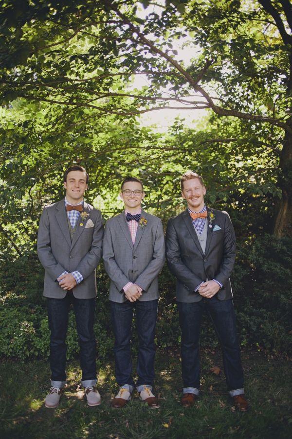 джинсы на свадьбе