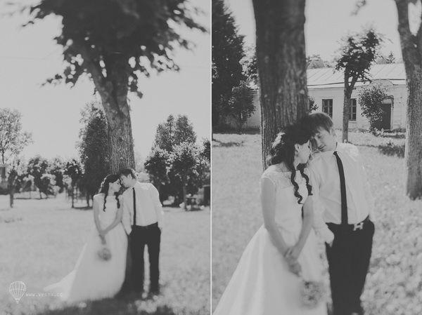 свадьба для двоих летом