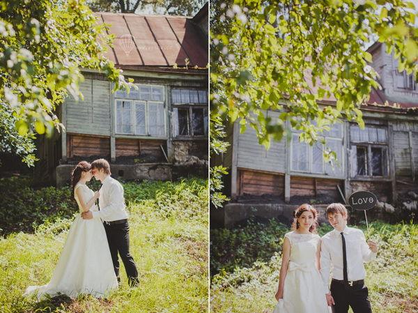 романтическая свадьба для двоих