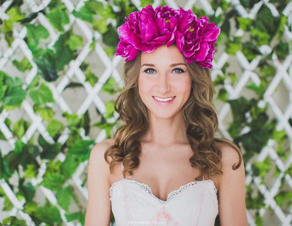 венок на голову невесты