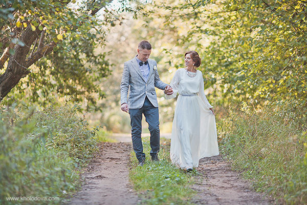 свадебная фотосессия в сентябре