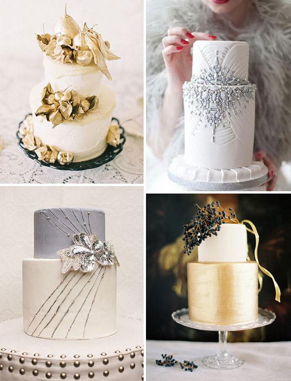 свадебные торты 2014