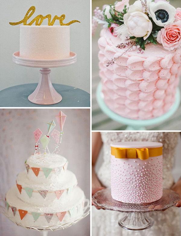 свадебные торты фото 2014
