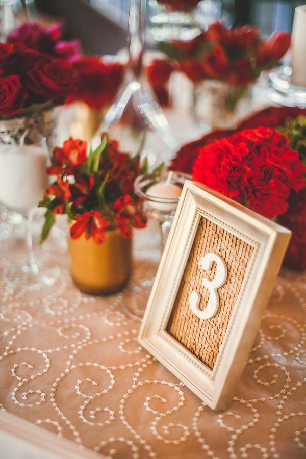 номерки на столы для гостей