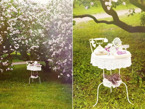 свадьба в весеннем стиле