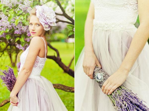 образ невесты весной