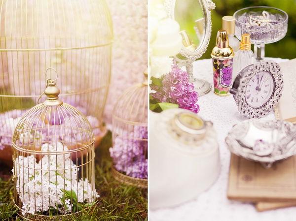 свадьба в сиреневом цвете оформление