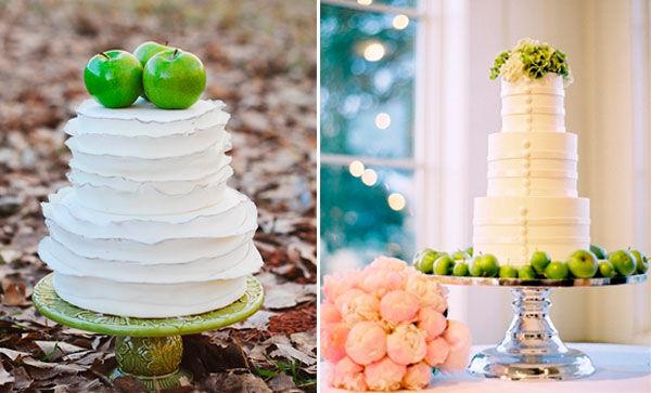 свадебные торты в белом цвете