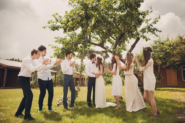 первая годовщина свадьбы идеи фотосессии