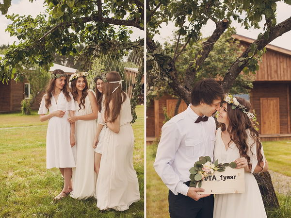 фотосессия к годовщине свадьбы