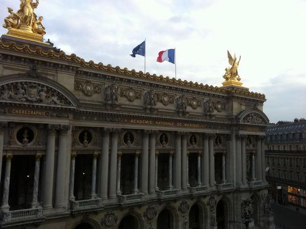 медовый месяц в Париже