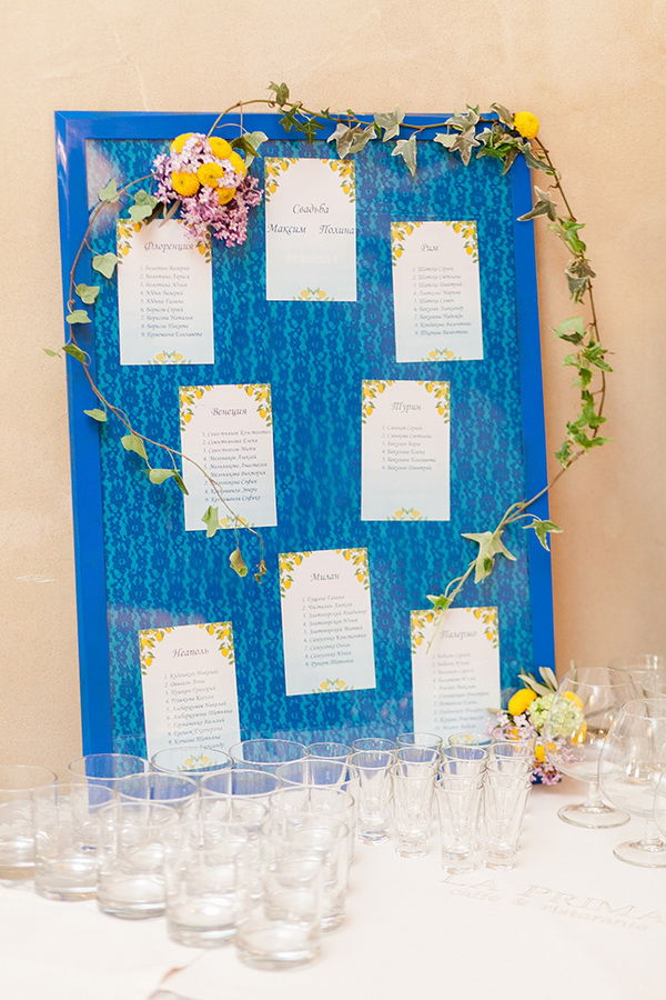 план рассадки гостей на свадьбе