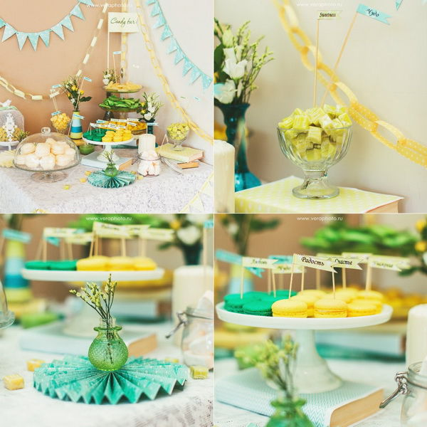 сладкий стол на свадьбе