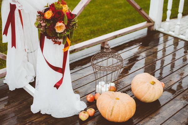 тыквы на свадьбе