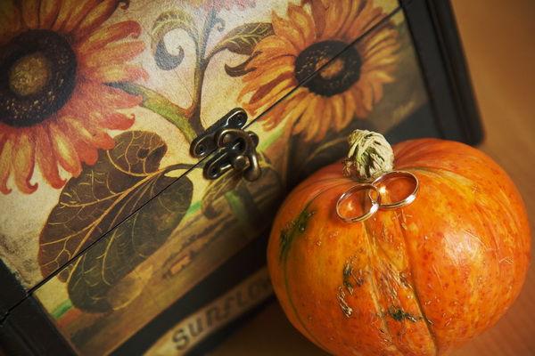 тематические свадьбы осенью