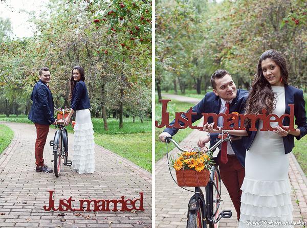 цвета для осенней свадьбы
