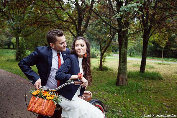 свадебная осенняя фотосессия