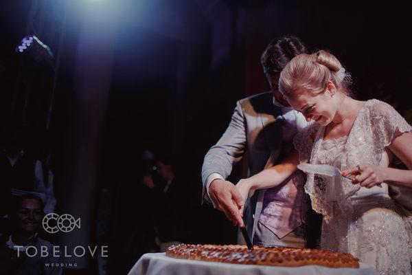 пирог на свадьбе