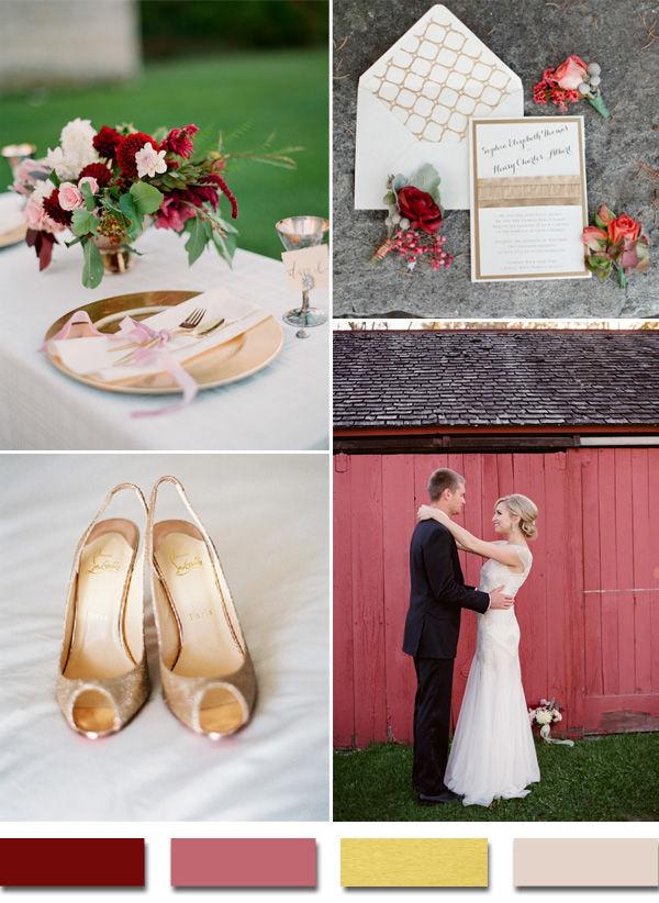 свадебная палитра цветов 2015