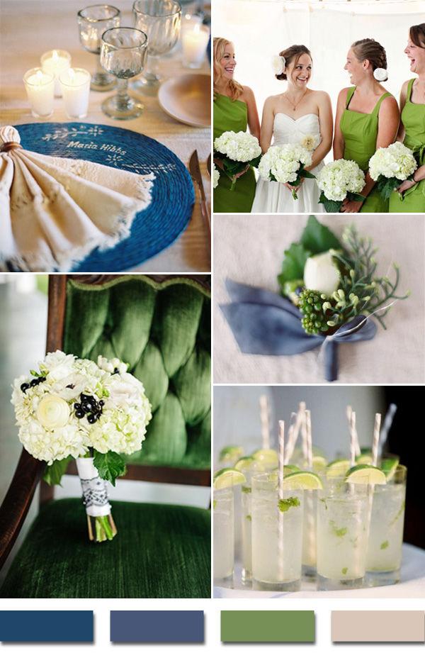 свадебная палитра цветов