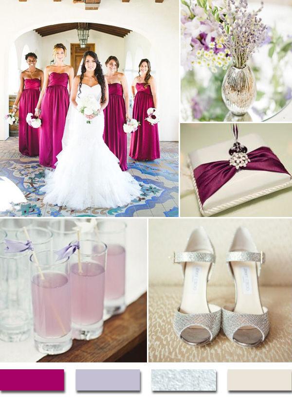 яркие оттенки на свадьбе
