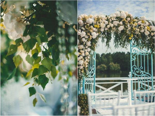 цветы в декор свадьбы