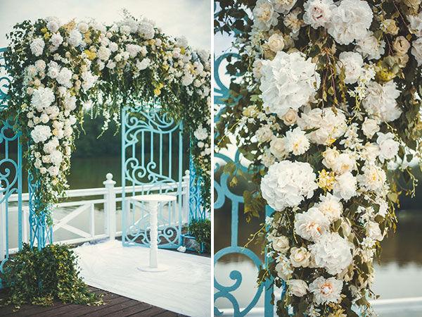 зона регистрации на свадьбе