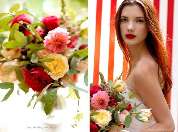 фотосессия образ невесты