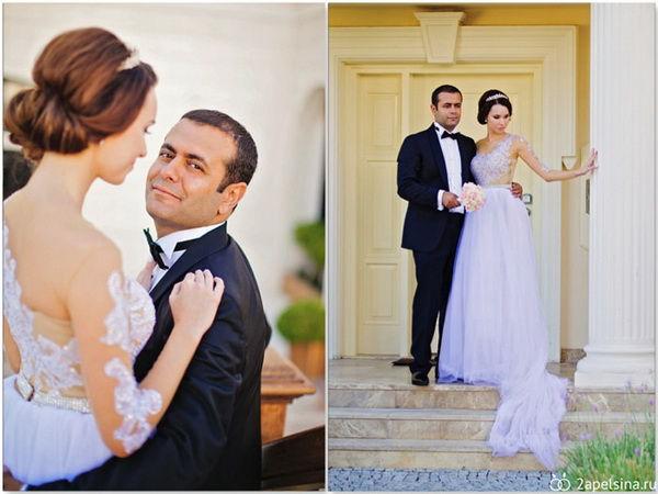 свадебная фотосессия в Турции