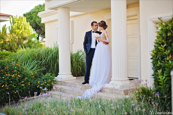 свадьба в турции фото