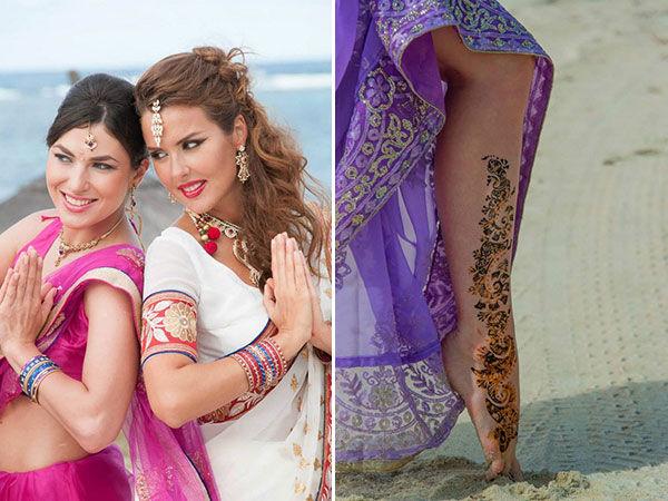 свадьба в индийском стиле