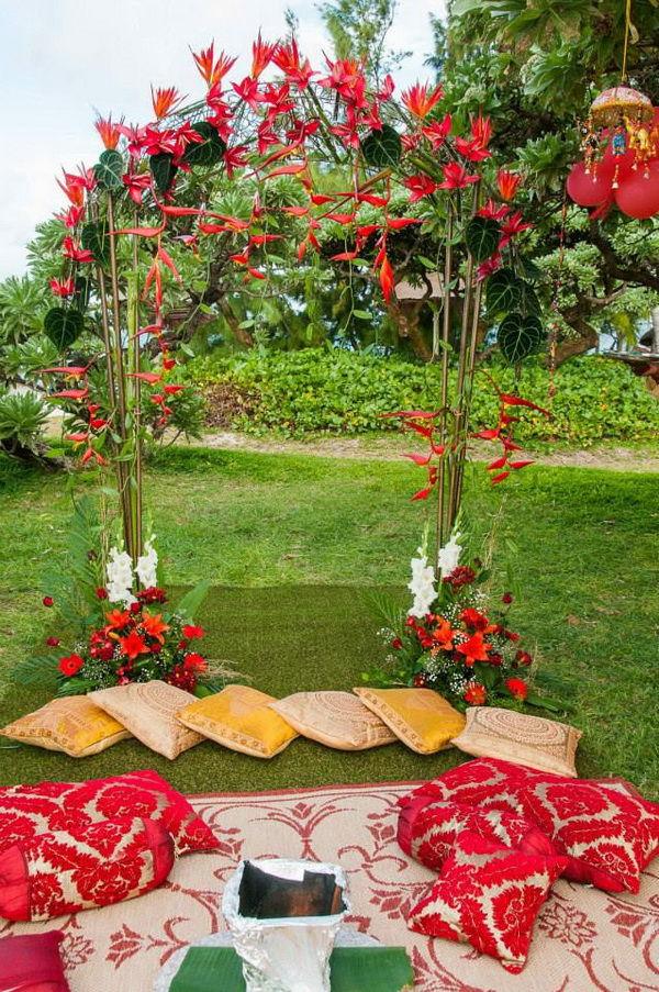 оформление свадьбы в индийском стиле