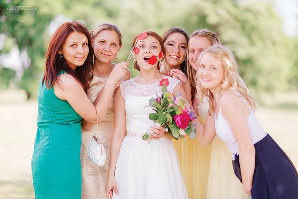 фотобутафория на свадьбе