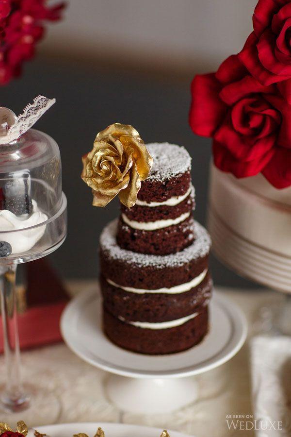 сладкий стол в красном цвете