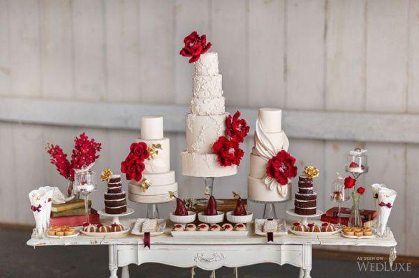 сладкий стол свадьба осенью