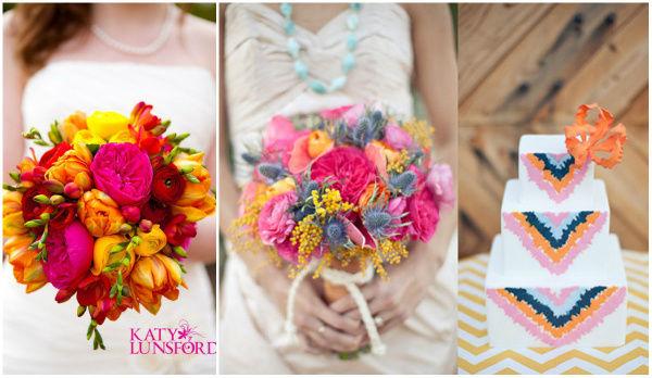 варианты букетов невесты