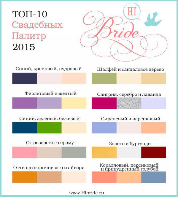 модные цвета 2015