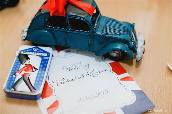 свадебные приглашения в английском стиле