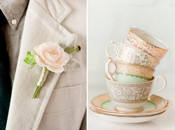 свадьба в нежных цветах