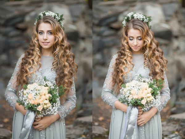 свадебный образ невесты