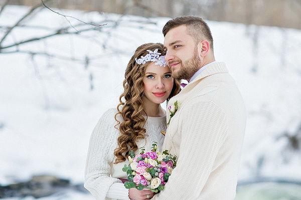 фотосессия для двоих зимой