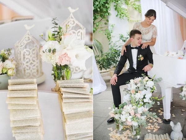свадьба в светлых тонах