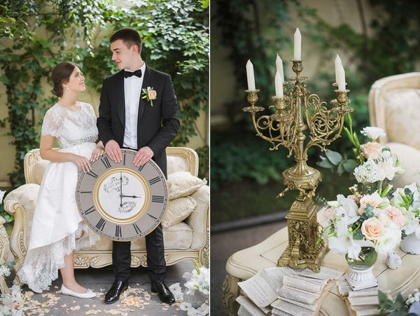свадебная фотосессия винтаж