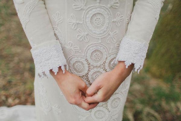 кружевные платья на свадьбу